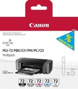 Canon PGI-72PBK/GY/PM/PC/CO Multi Pack Картридж Canon для PRO-10. 510 фотографий.