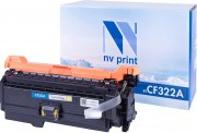 Картридж NV Print CF322A Yellow для HP LJ Color M680dn, M680f, M680z (16500k)