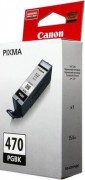 0375C001 Canon PGI-470PGBK Картридж для Pixma iP7240/MG6340/MG5440, черный