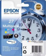 EPSON C13T27054020 Multipack 3-colour 27 DURABrite Ultra Ink for WF7110/7610/7620 (cons ink)