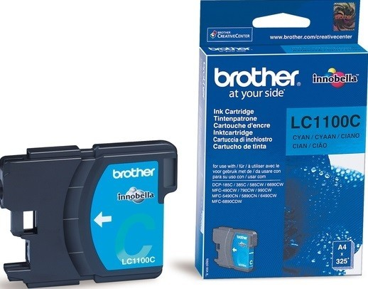 Картридж BROTHER LC-1100C (DCP-385C/MFC-990CW) голуб