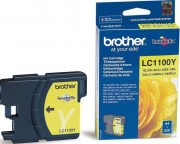 Картридж BROTHER LC-1100Y (DCP-385C/MFC-990CW) желт
