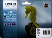 C13T04874010 Картридж Epson для MultiPack R200/R300 (Cyan,Magenta,Yellow,Black,Cyan light,Magenta light) (cons ink)