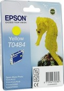 C13T04844010 Картридж Epson для St.R200/300/RX500/600/620 (желтый) (cons ink)