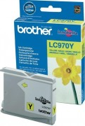 Картридж BROTHER LC-970Y (DCP-135C/MFC-235C) желт