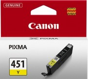 6526B001 Canon CLI-451Y Картридж для PIXMA iP7240/MG6340/MG5440, Желтый(Yellow), 344стр.