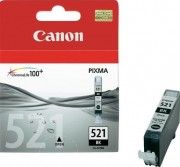 2933B004 Canon CLI-521Bk Картридж для Для Canon Pixma iP3600, 4600, MP540 ,MP620, MP630, MP980, Черный, 9 мл.