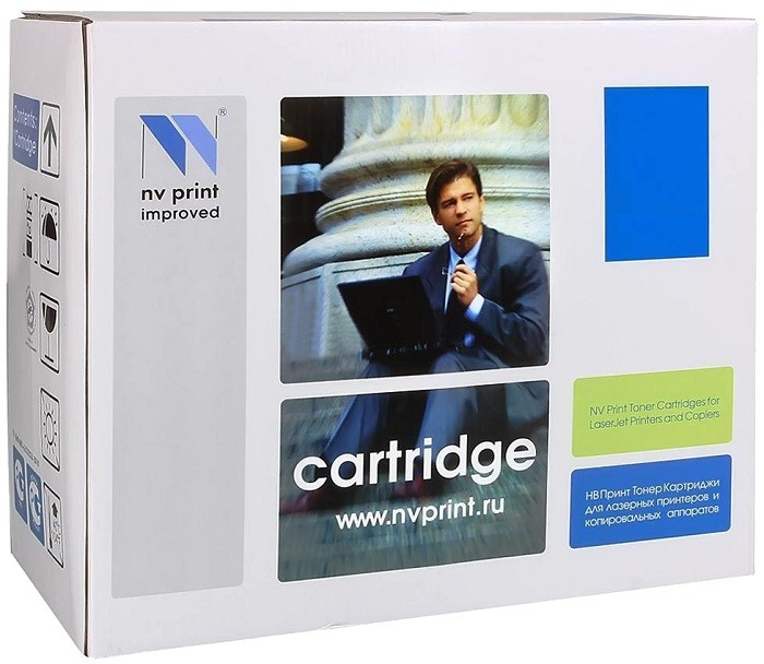 Картридж NV Print Q7581A Cyan для HP Color LJ CP3505/3800 совместимый, 6 000 к.