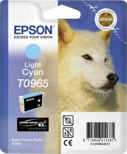 C13T09654010 Картридж Epson для R2880 (Light Cyan) (cons ink)