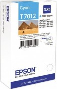 C13T70124010 Картридж Epson для WP 4000/4500 Series Ink XXL Cartridge Cyan 3.4k