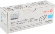 Картридж Xerox 106R02760 для принтера Xerox Phaser 6020/ 6022/ WorkCentre 6025/ 6027 голубой (1K)