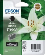 C13T05984010 Картридж Epson для R2400 Ink Cartridge Matt Black (cons ink)