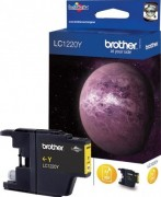Brother LC-1220Y Картридж, Yellow {MFC-J430W/J825DW/DCP-J525W, жёлтый, (300стр)}