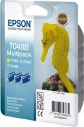 C13T048B4010 Картридж Epson T048 Multi Pack (LC, LM, Y) triple (cons ink)