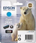 C13T26324010 Картридж Epson 26XL CY (cons ink)